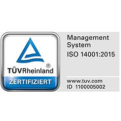 ISO-Umweltmanagement-Logo